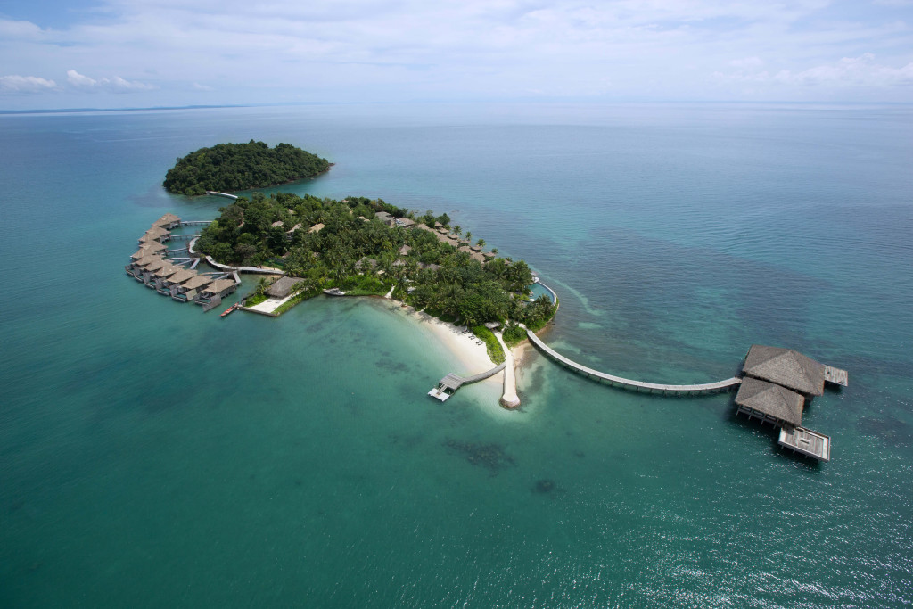 Song Saa Private Island, Aerial View