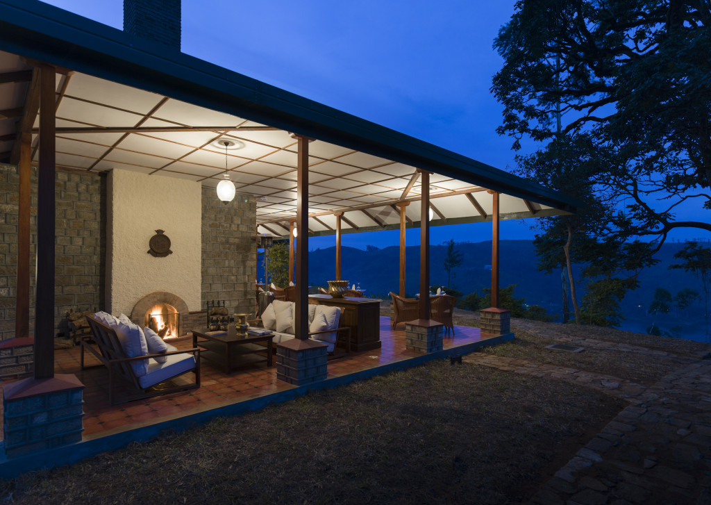 Tea - Dunkeld terrace