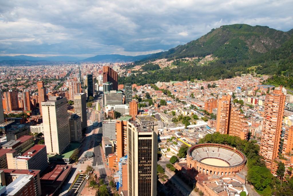 Bogota. Credit: Shuttershock