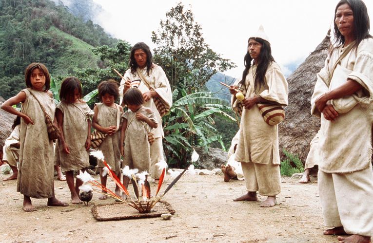 Kogi Tribe. Credit: Eric Julien